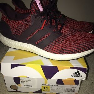 Red ultra boost 3.0